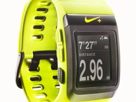 Nike+ SportWatch GPS Powered by TomTom (Volt/Black)