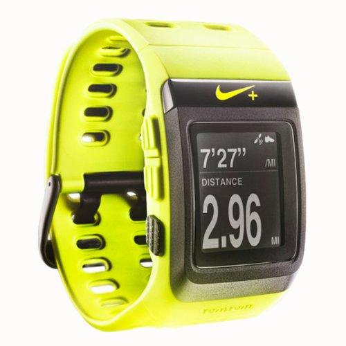 Nike+ SportWatch GPS Powered by TomTom (Volt/Black ...