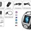 Unlocked! Sport Touch Screen GSM Wireless Watch Cell Phone + Bluetooth Headset!