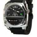 Martian Watches Victory Smart Watch (Black/Silver)