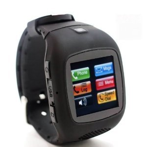 SVP G14 The newest Stylish Cell Phone Smart Watch Model With Pedometer/Speed/Distance/Kcal The Black Camera GSM Quad-band Watch Phone ~ UNLOCKED ~