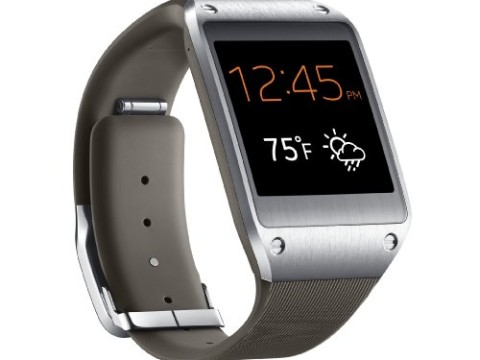 Samsung Galaxy Gear Smartwatch- Retail Packaging - Mocha Gray