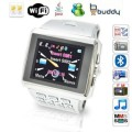 """Digital Family X8 Wifi Java Smart Watch Mobile Phone Quad Band Dual Sim Cards 1.5"""" Touch Screen Qwerty Keyboard"""