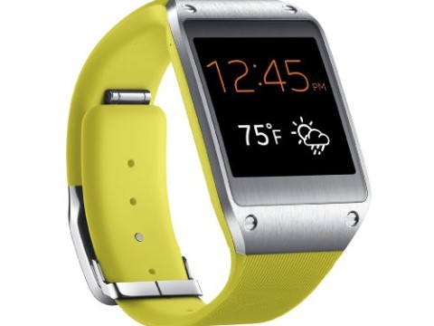 Samsung Galaxy Gear Smartwatch- Retail Packaging - Lime Green