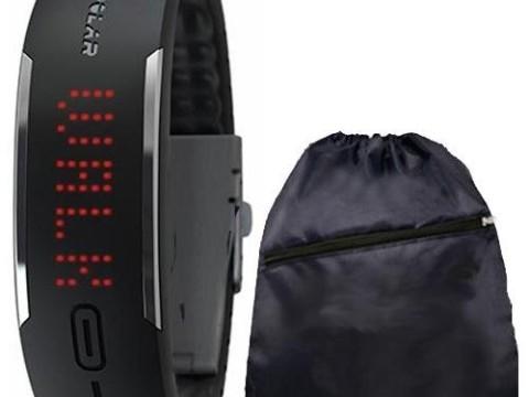 Polar Loop Activity Tracker with Cinch Bag - Black