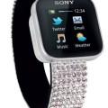 Sony MN2 Bluetooth Smart Watch Swarovski Elements For Samsung Galaxy S4, S3, S2 IGN Best gifts.