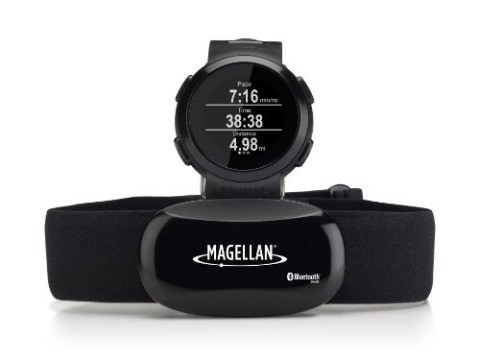 Magellan Echo Smart Running Watch with Heart Rate Monitor-Bluetooth Smart (Black)