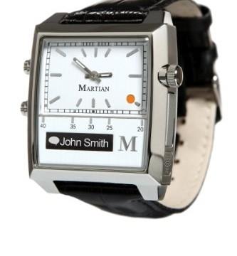 Martian Watches Passport Smart Watch (White/Silver/Black)