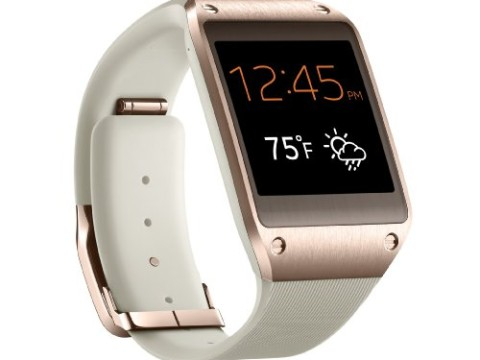 Samsung Galaxy Gear Smartwatch - Retail Packaging - Rose Gold