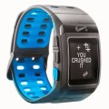 Nike+ SportWatch GPS Powered by TomTom- Sensor Not Included (Anthracite/Blue Glow)